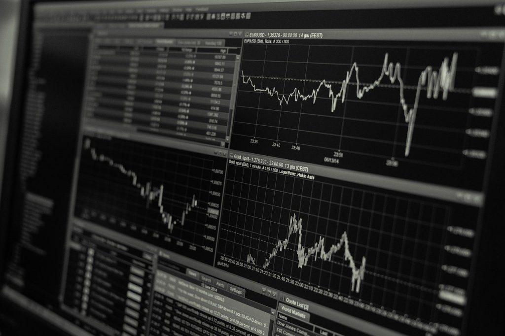 stock, trading, monitor